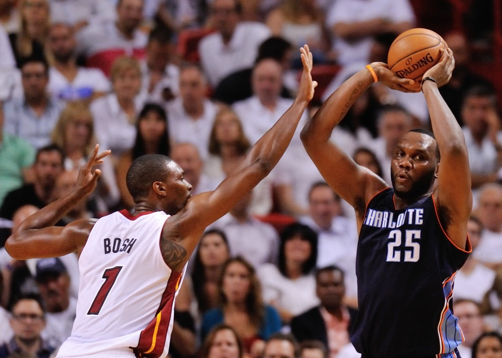 NBA: Playoffs-Charlotte Bobcats at Miami Heat